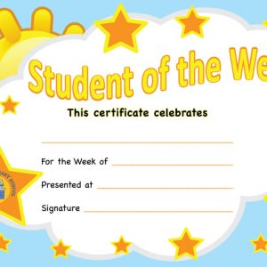 A4 Student of the Week